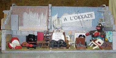 Chez le brocanteur le grand d ballage - Fauteuil gant de boxe ...