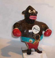 Le squelette du boxeur pour tester sa force - Fauteuil gant de boxe ...